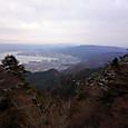 延暦寺駅から浜大津方面を望む
